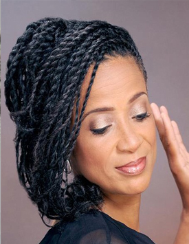 Natural Hair Two-Strand Twists - A Beautiful Mess